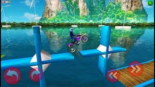 """Stunt Mania Xtreme """"Dare Devil"""" Motor Race Games - Android GamePlay"""