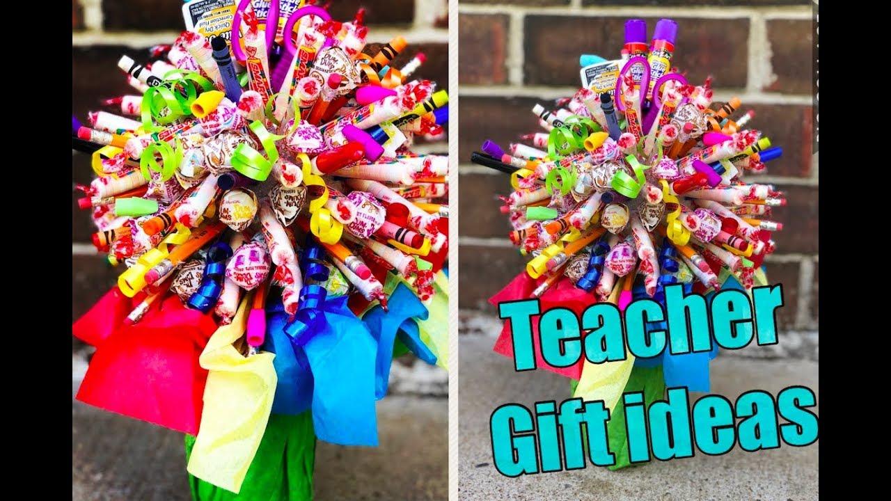 Diy Teacher Soda Candy Bouquet
