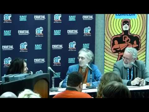 Marvel In The 80s Panel East Coast Comic Con April 11th, 2015 3pm Part 2