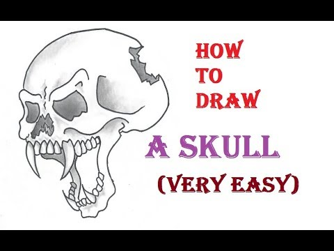 How to Draw Skulls: Easy Step-by-Step