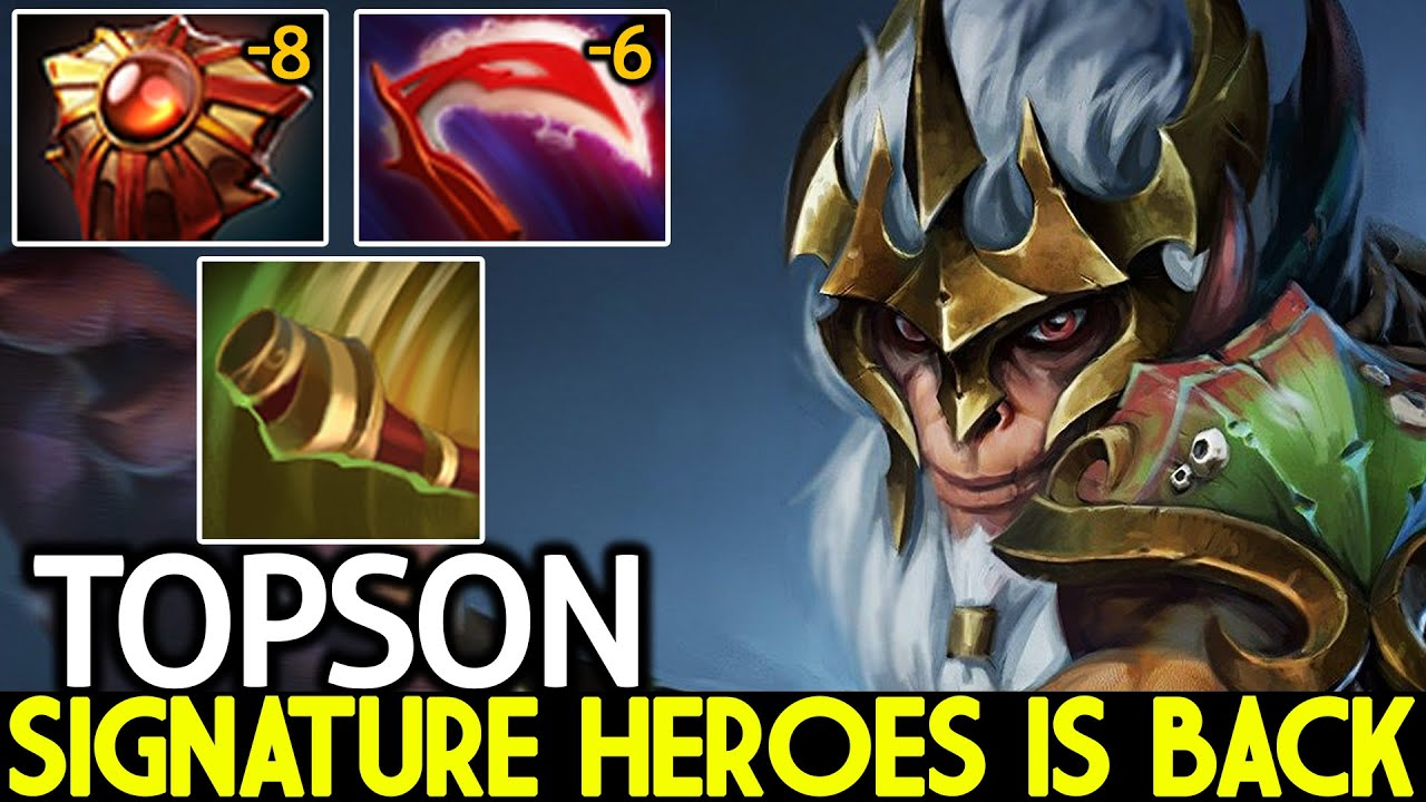 TOPSON [Monkey King] Signature Heroes is Back Master Tier Mid Dota 2