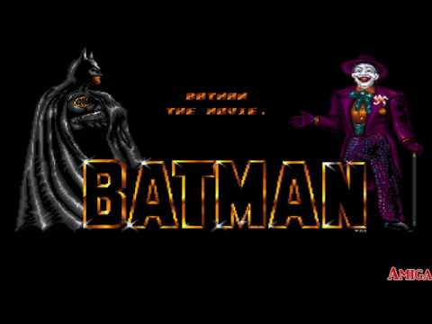 Let's Compare C-64 vs Amiga - Batman (The Movie)