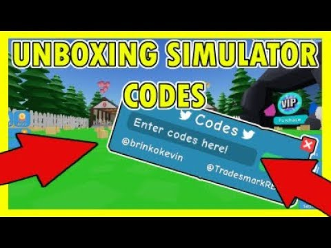 Codes For Unboxing Simulator In Roblox - Unboxing Simulator Codes 2019
