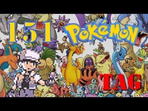 [TAG] 151 premiers pokémon