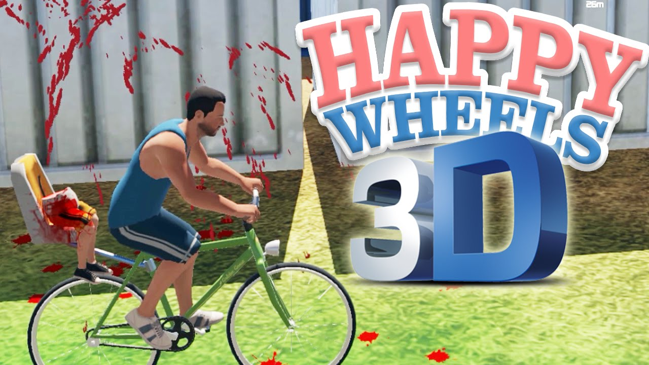 3d Happy Wheels