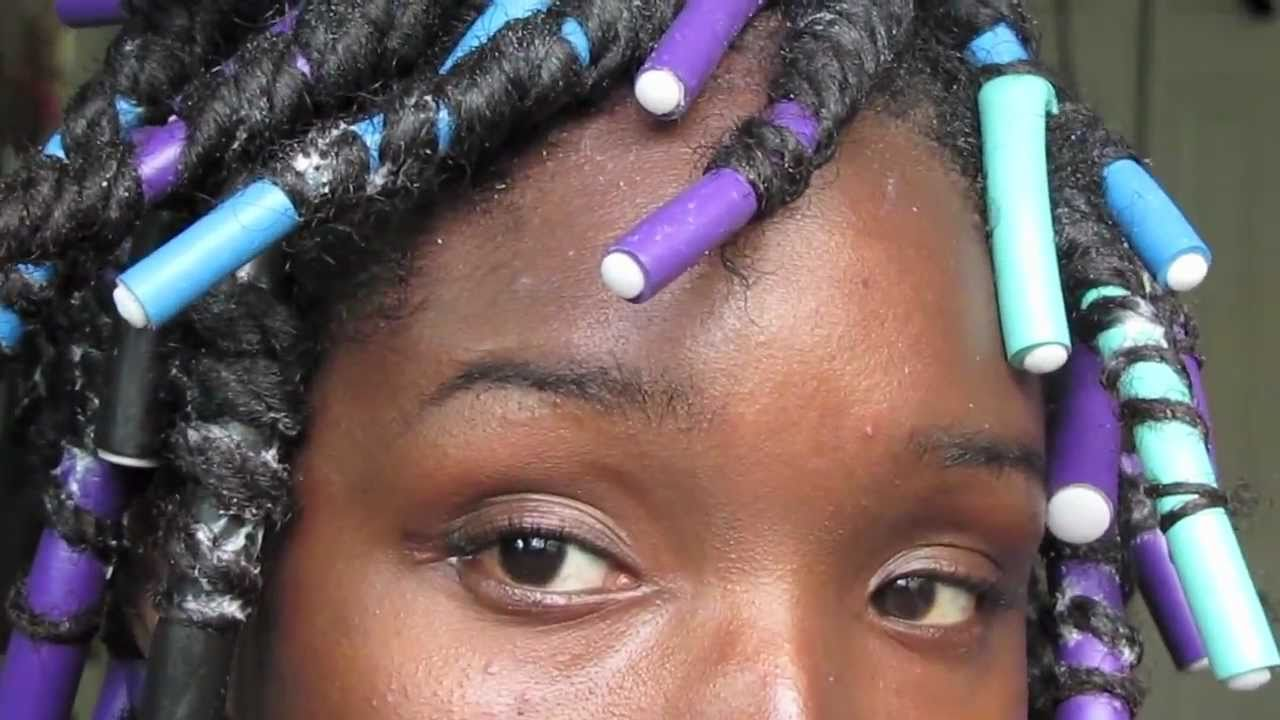 Natural Amp Transitioning Hair Spiral Curls With Flexirods