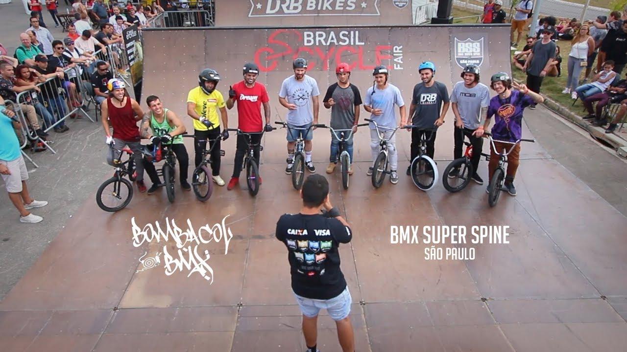 #TBTBMX20   BMX Super Spine / Brasil Cycle Fair 2017