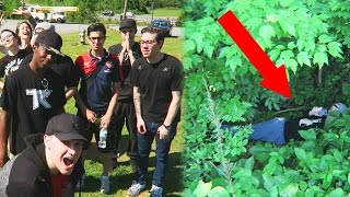 HIDE AND SEEK AT THE PARK!!