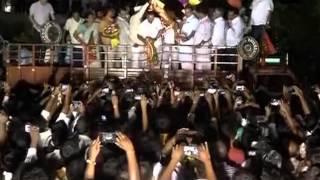 BJP workers celebrate as Yeddyurappa becomes Karnataka party chief