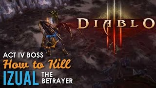 How to kill Izual Diablo 3