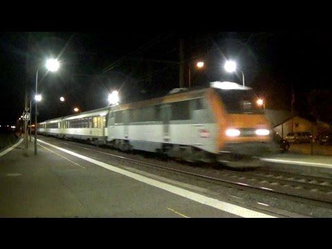Une nuit sur la PLM en gare de Tain Partie 2