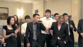 Свадьба в Усть-Каменогорске.Поздравление друзей.