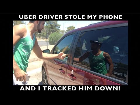 UBER Driver Jacked My Phone (and I Tracked Him Down!)