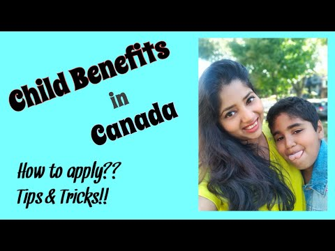 Child Benefits In Canada| How To Apply| Benefits For PR| Free Money From Canadian Government😌