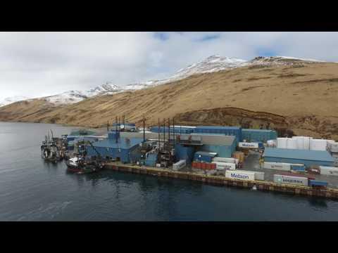 Akutan Alaska, Trident Seafoods, spring 2017