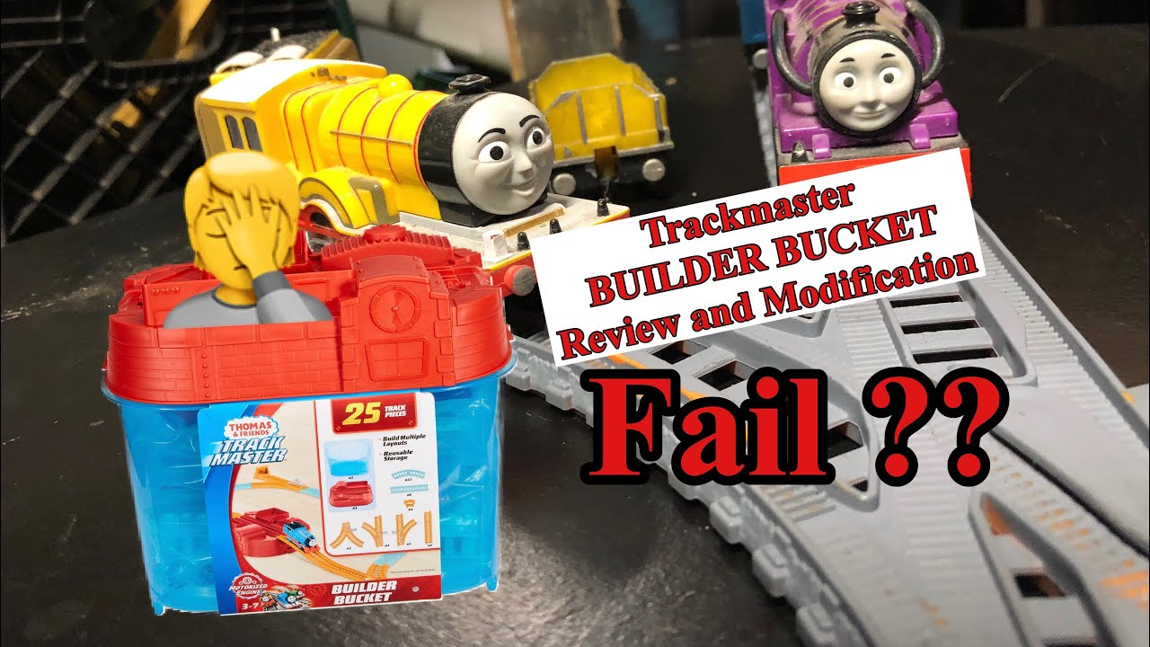 TRACKMASTER BUILDER BUCKET 2020 REVIEW