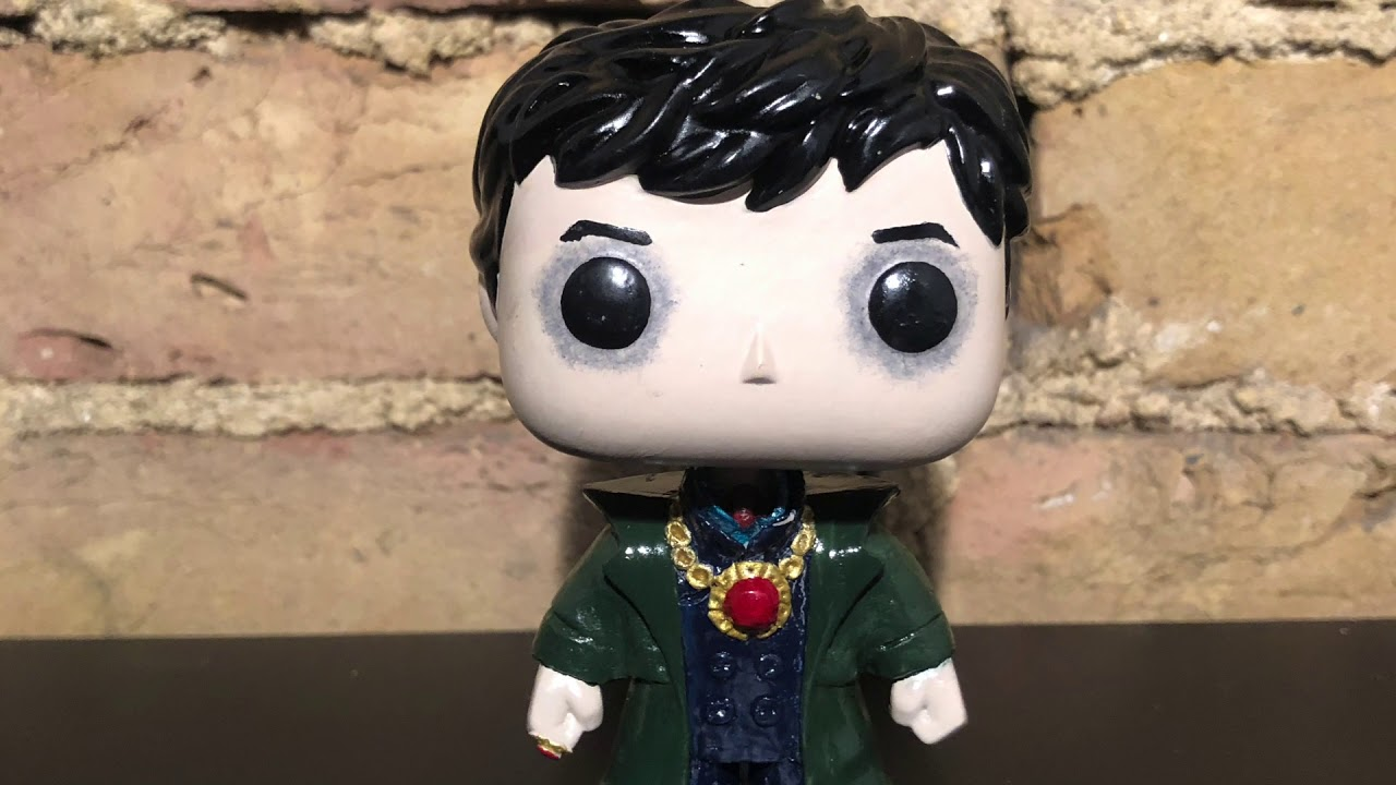 Johnny Depp As Barnabas Collins From Dark Shadows Custom Funko Pop Sold Youtube