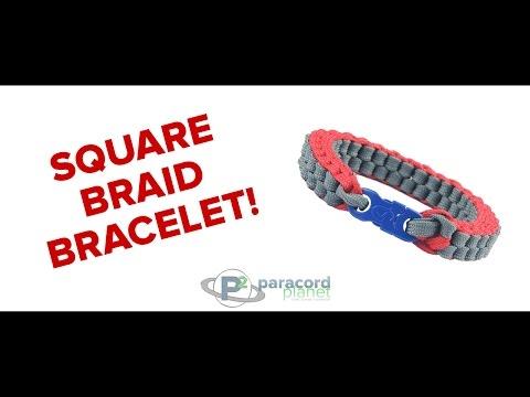 How To Make A Square Braid Bracelet