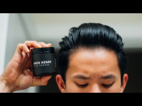 Jack Henry Clay Pomade Review -- Formulation Update