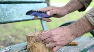 Забиваем гвозди смартфоном! / Арстайл /