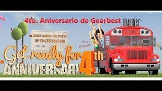 4to Aniversario de Gearbest