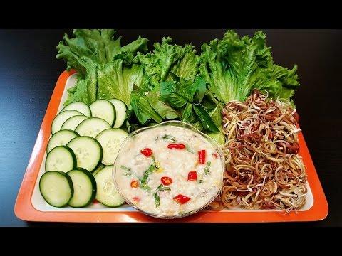 How to make tirk Krueng ( ធ្វើទឹកគ្រឿង ) Khmer