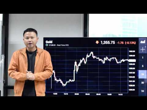 ราคาทองคำวันนี้ วิเคราะห์ 1 นาที โดย Ausiris 1Aug2016
