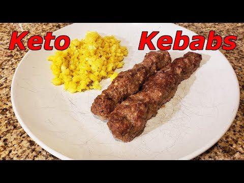 How To Make Keto Kebabs | Lamb and Beef Kebabs