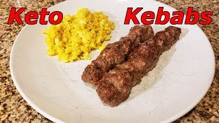 How To Make Keto Kebabs | Lamb and Beef Kebabs