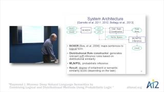 Deep Natural Language Semantics - Raymond Mooney