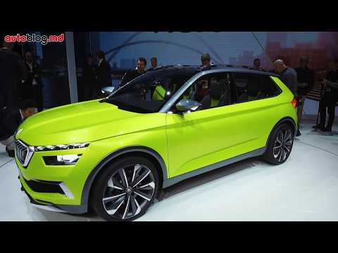 Geneva 2018: Skoda VISSION X, Fabia facelift, Kodiaq Laurin&Klement