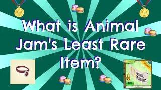 [Animal Jam] What is the LEAST Rare Item?