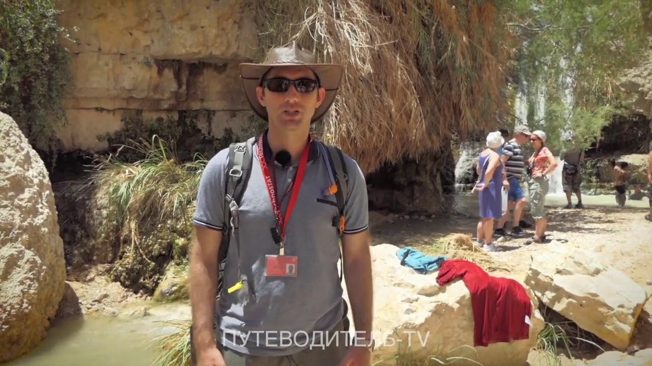 Путешествуем по Израилю: Заповедник Эйн Геди