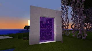 Minecraft: how to make a portal to heaven - (minecraft portal to heaven)