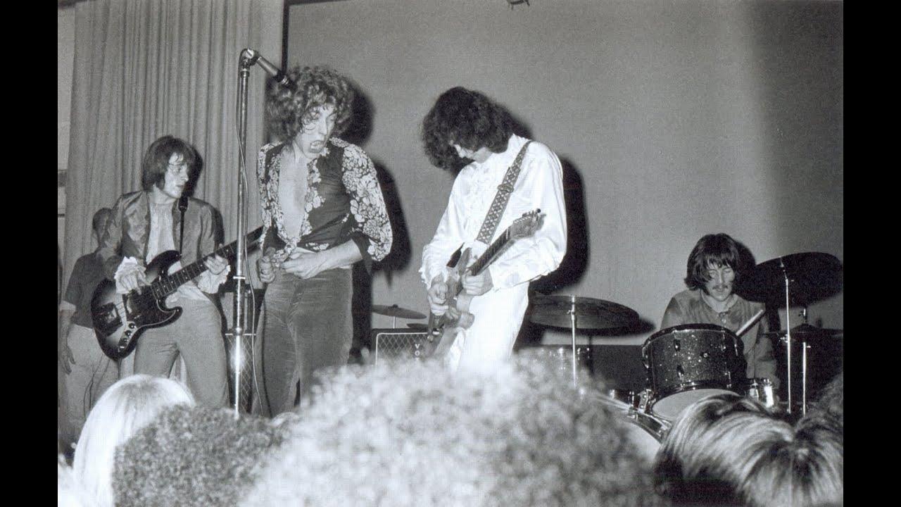 Led Zeppelin - 1968/12/30 @ Gonzaga University, Spokane ...