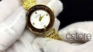 Видео обзор часов Baosaili желтое золото с белым циферблатом (07766)