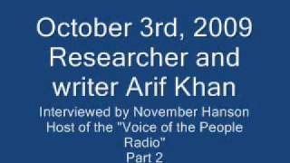 Radio Interview of Arif Khan (Tomb of Jesus.com)