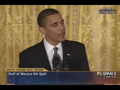 Pr. Obama Gulf Spill (6) Press Conference