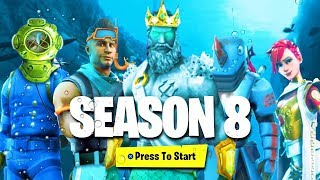 *NEW* ALL SEASON 8 BATTLE PASS SKINS LEAKED! (Fortnite Season 8 Skins Leaked)