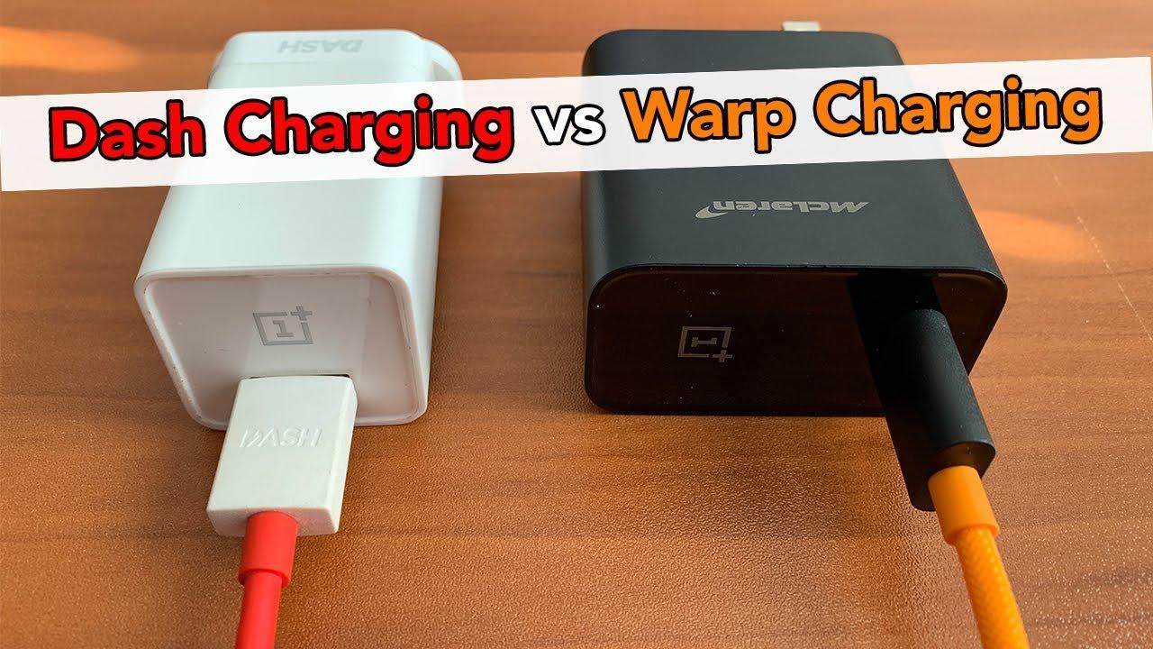 Dash Charging vs Warp Charging - YouTube