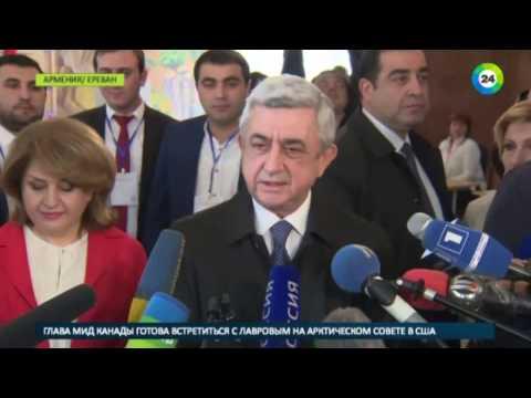 Голосование в Армении: президент и премьер-министр сделали выбор - МИР24