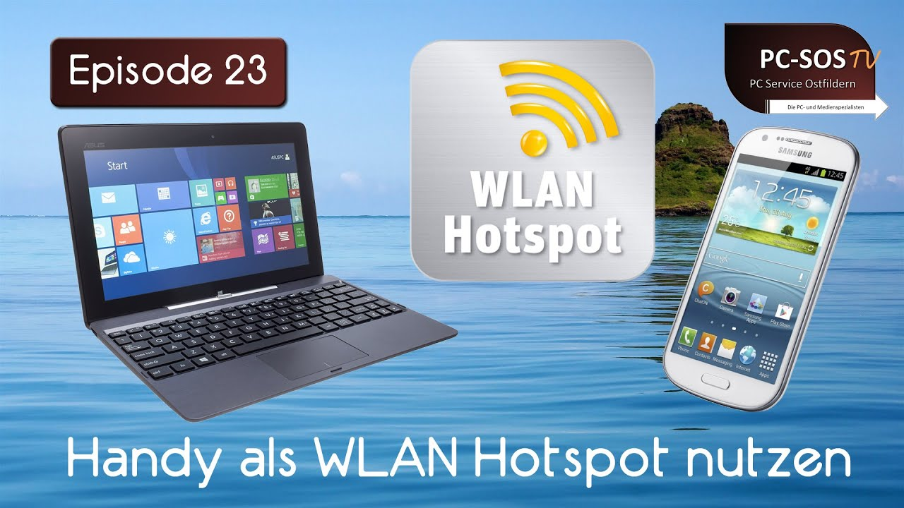 handy als wlan hotspot einrichten pc sos tv episode 23 hd youtube. Black Bedroom Furniture Sets. Home Design Ideas