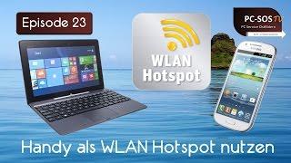 Handy als WLAN Hotspot einrichten - PC SOS TV Episode 23 [HD]