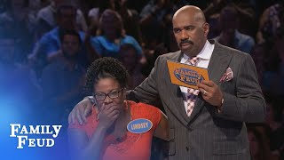 $20,000 hangs in the BALANCE!!! | Family Feud