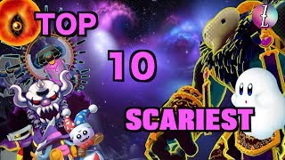 Top 10 SCARIEST Moments in Kirby Games!!!