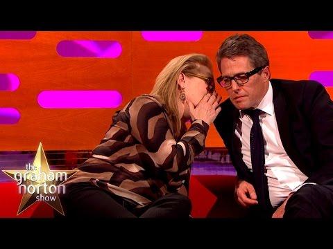 Meryl Streep Leaves Hugh Grant Speechless - The Graham Norton Show