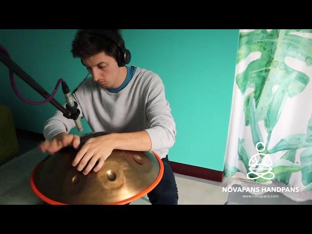 9 Note Handpan in D Celtic Minor | Generation 7 by NovaPans Handpans