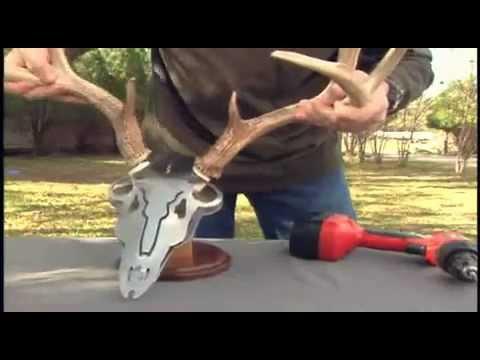 Do-All Outdoors Iron Buck Antler Mount Kit.mp4