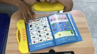 Sách nói cho bé, sách song ngữ Anh Việt có nhạc và kể chuyện