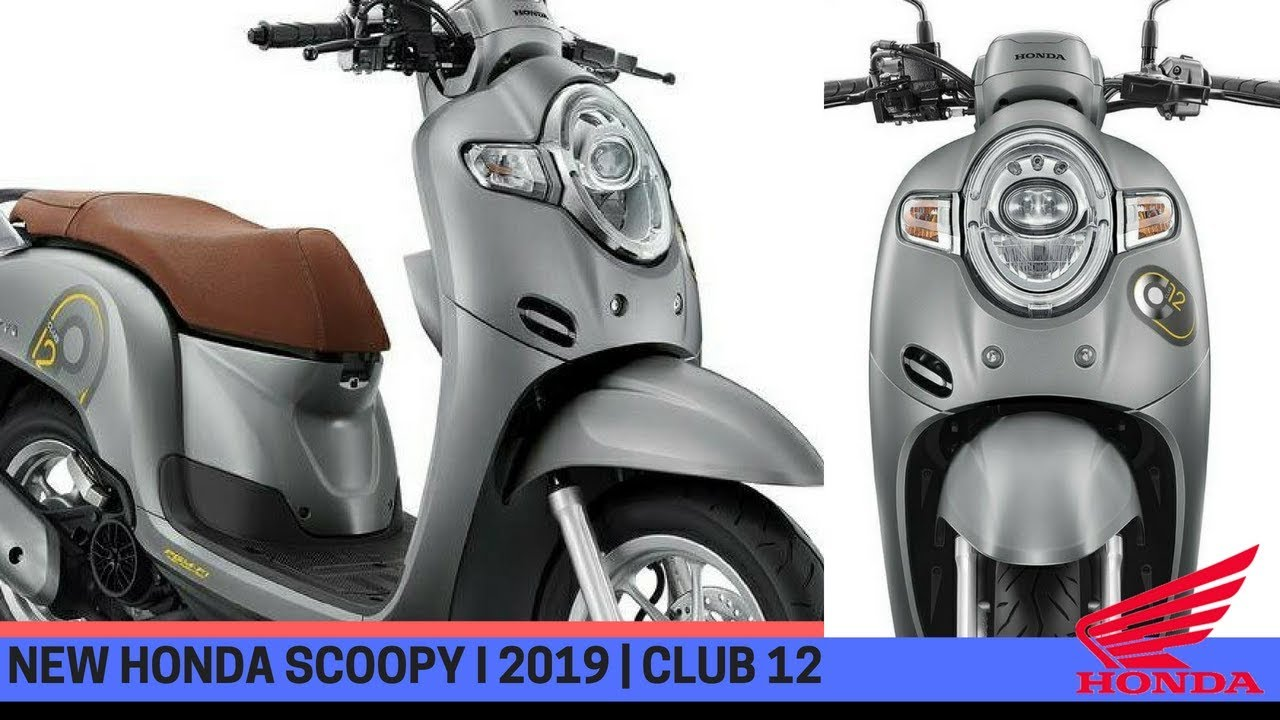New Honda Scoopy I 2019 Released On May Youtube